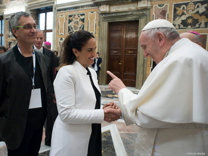 Noa and Pope Francis