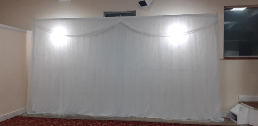 Backdrop No Lights