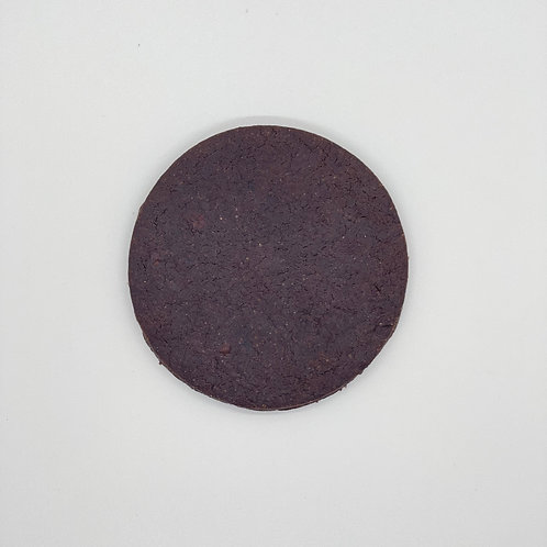 Undecorated Chocolate Cookie
