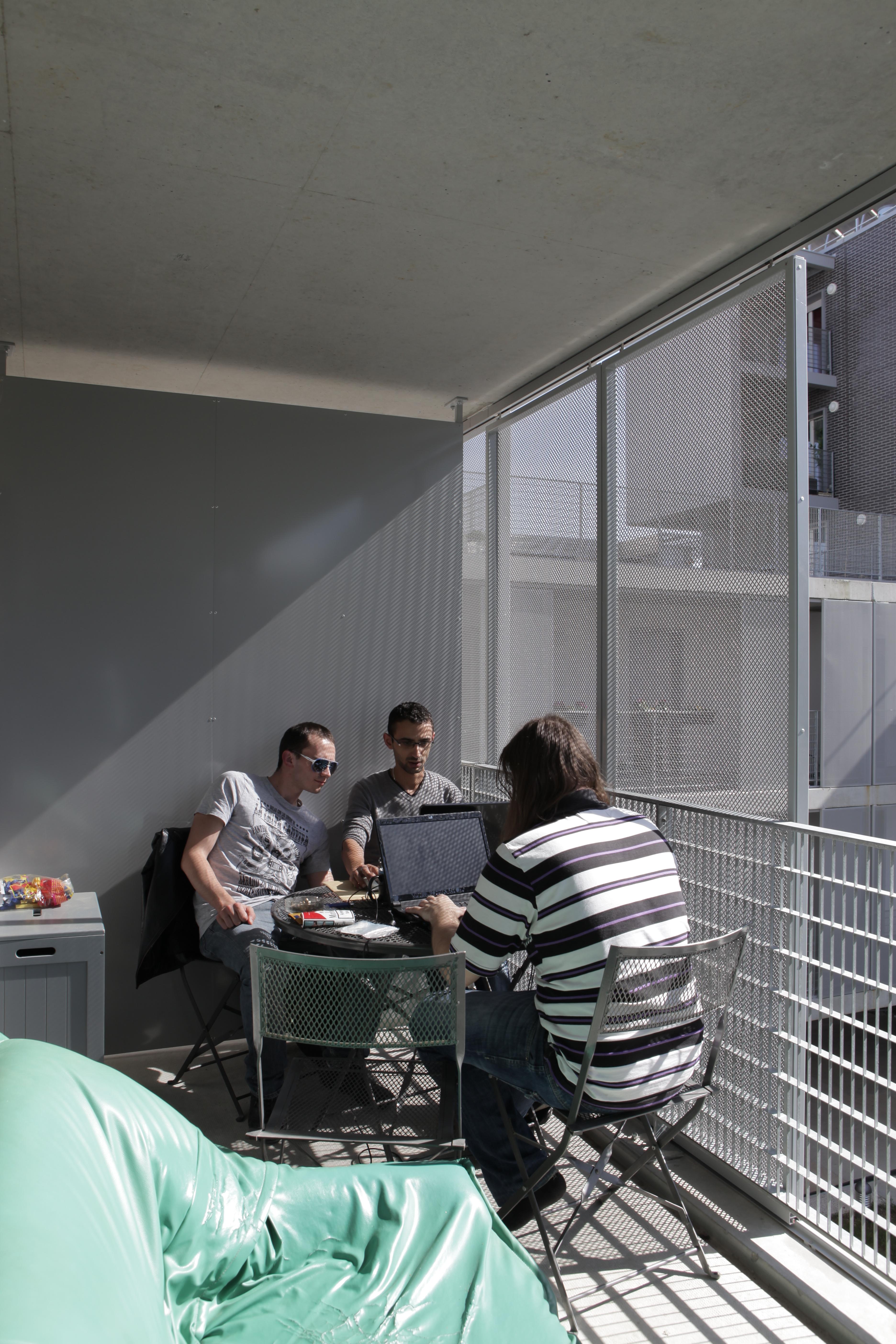 balcon protégé