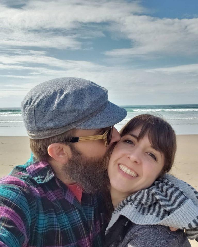 Husband and me