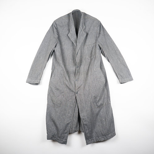 Vintage 50's French Worker & Teacher Coat