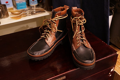 Luddite x Alternative Country Huntsman Moccasin Leather Boots