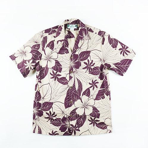 Two Palms Aloha Shirt - Lanai Plum