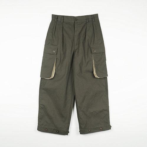 Luddite Original Army Fatigue Pants SS Sage ( High Waist Loose Cut)