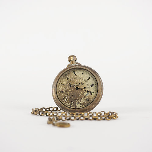 Luddite Original Brass Pocket Watch - Antiquated