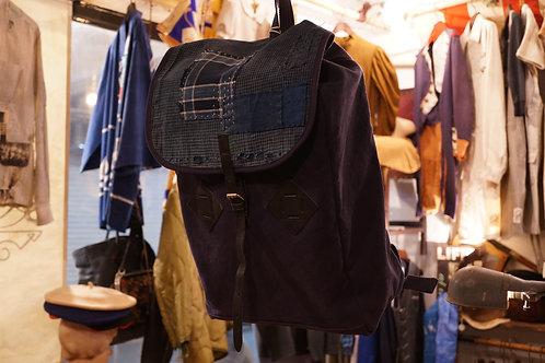 Luddite x AC Boro Leather Mil Sack Backpack