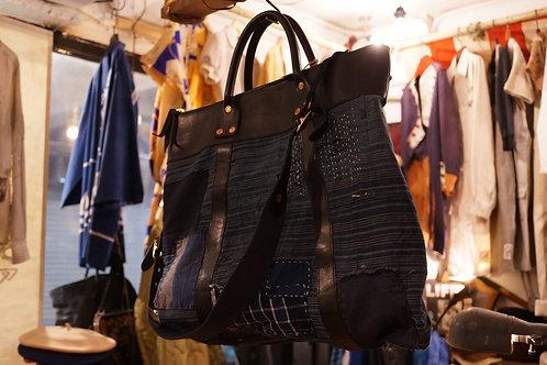 Luddite x AC Boro Leather Logger Carry All Shoulder Bag