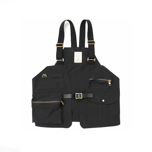 copy of copy of AS2OV - SHRINK NYLON CAMP VEST (BLACK)