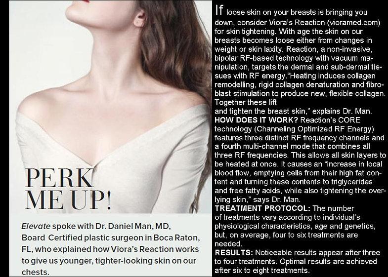 breast lift, skiin tightening, surgery, younger, wrinkles, skin tightening, Dr Man, breast, dermal, Viora, reaction, RF, fat, laser, plastic surgery, botox