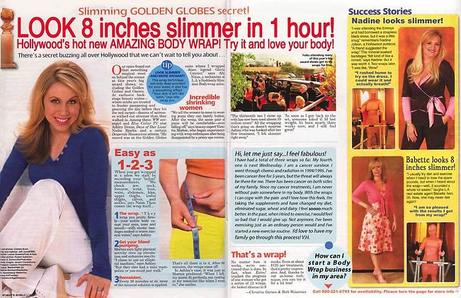 Slimmer in 1 hour!