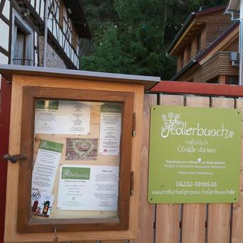 Hollerbusch Schaukasten
