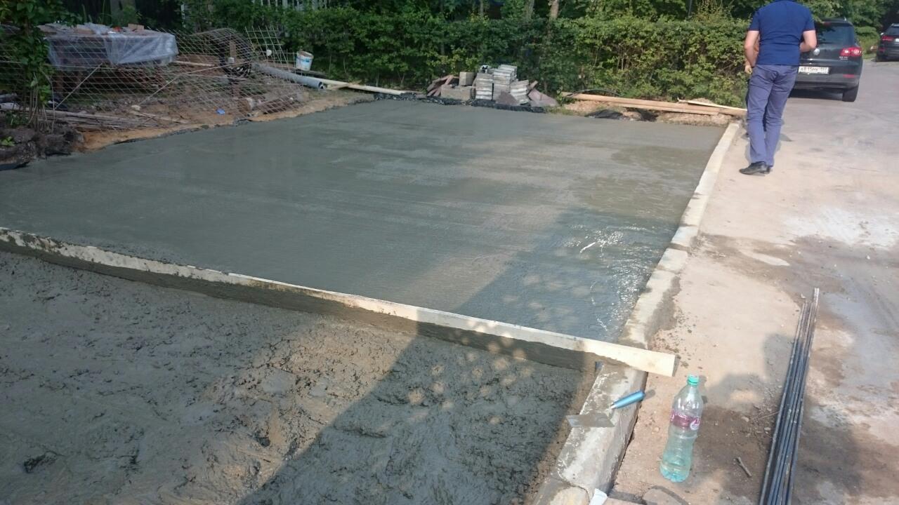 Доставка бетона в КП Княжичи