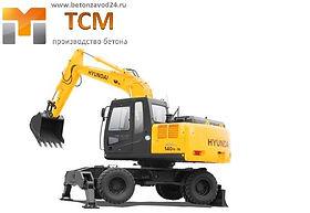 Аренда колесного экскаватора Красногорск