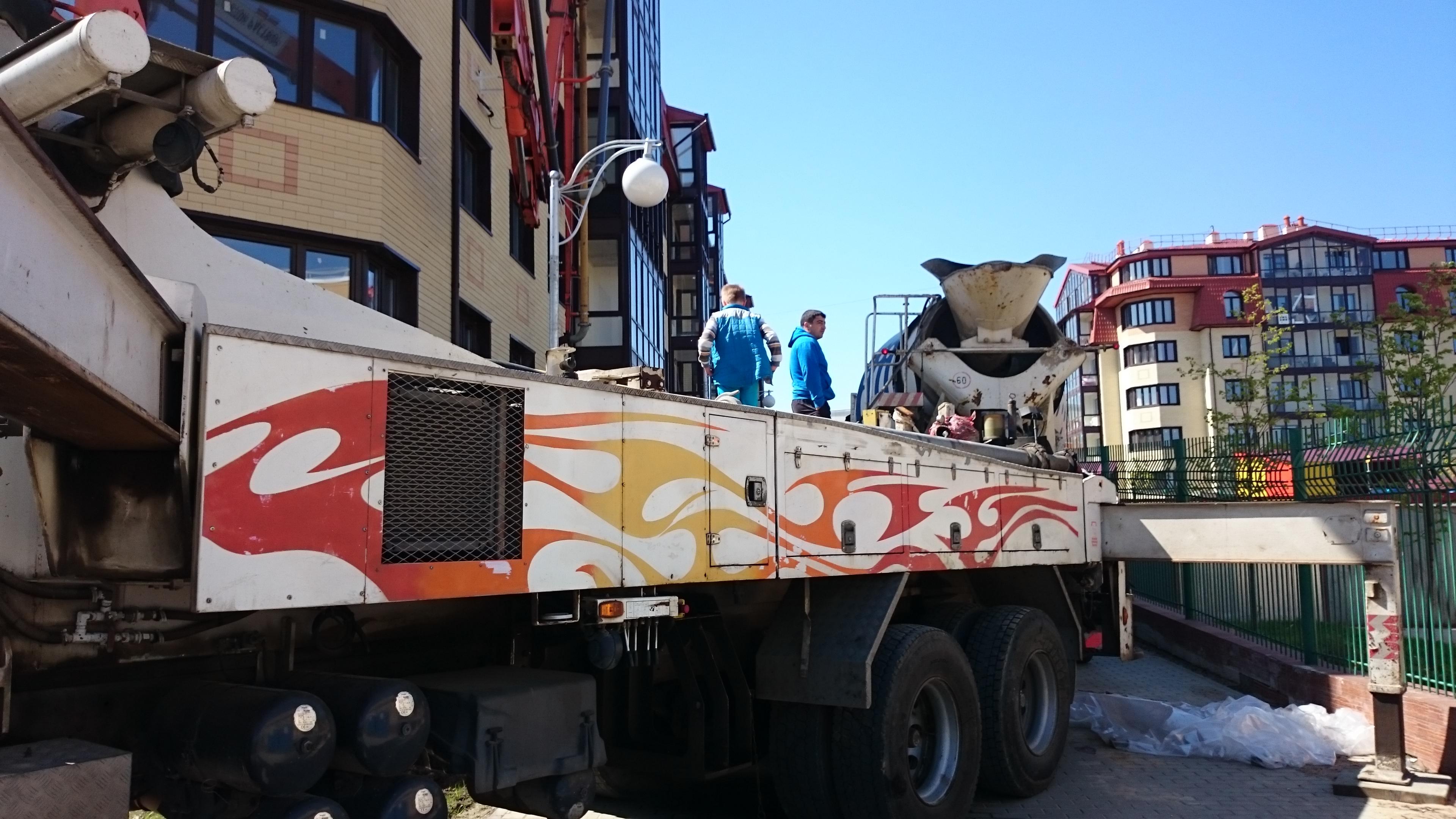 аренда бетононасоса Одинцово