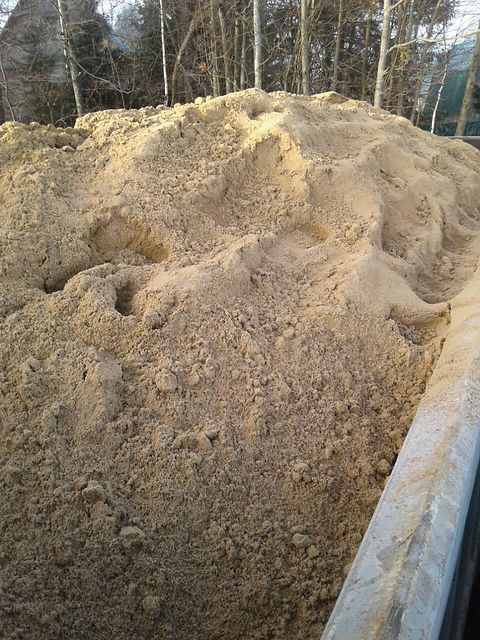 Песок мытый Звенигород