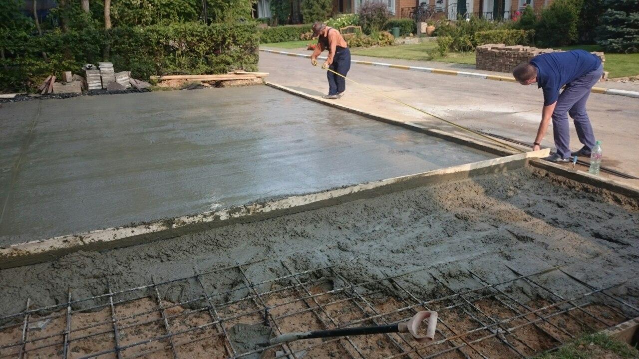 бетон для стяжки пола