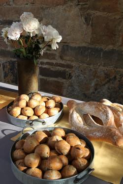 Artisan bread made locally in Sonoma
