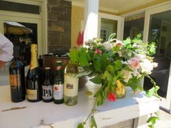 Wedding Brunch Bar and Flowers