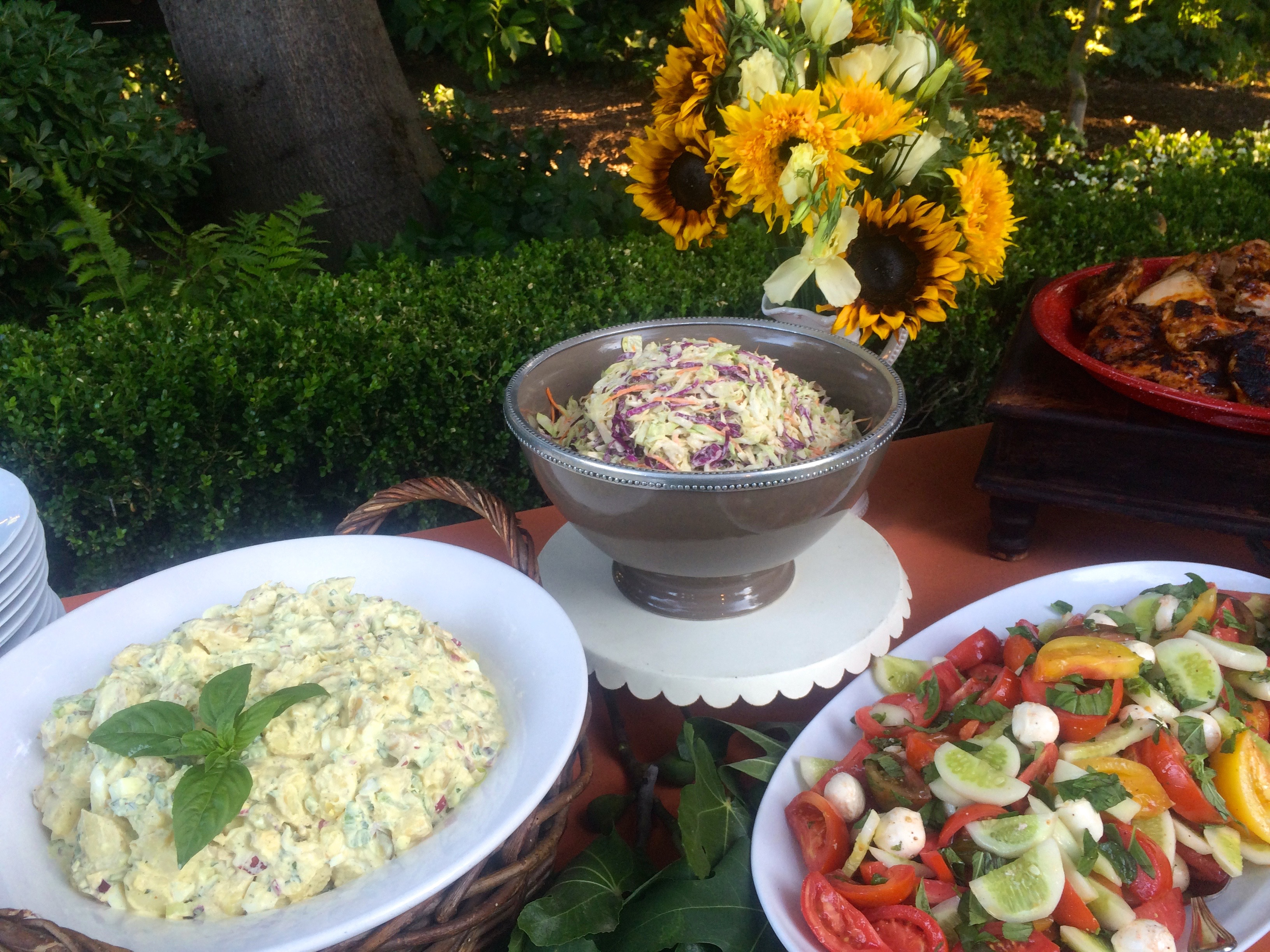 Hughes BBQ Summer salads