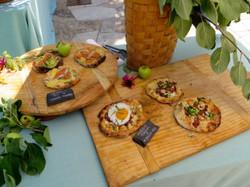 Wedding Brunch Personal Pizzas