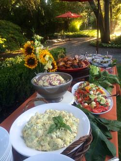 Hughes BBQ Gourmet Backyard Buffet