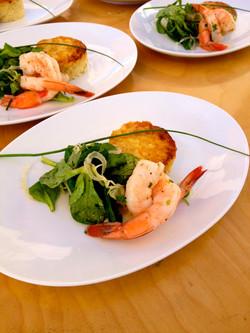 Flanagan Gulf Shrimp First Course