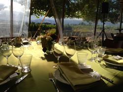 Sangiacomo Winery Sunlit Tent