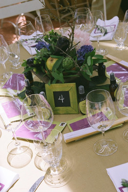 Fritz Birthday Table Centers