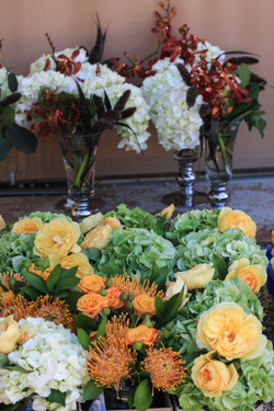 Wedding flowers for centerpieces