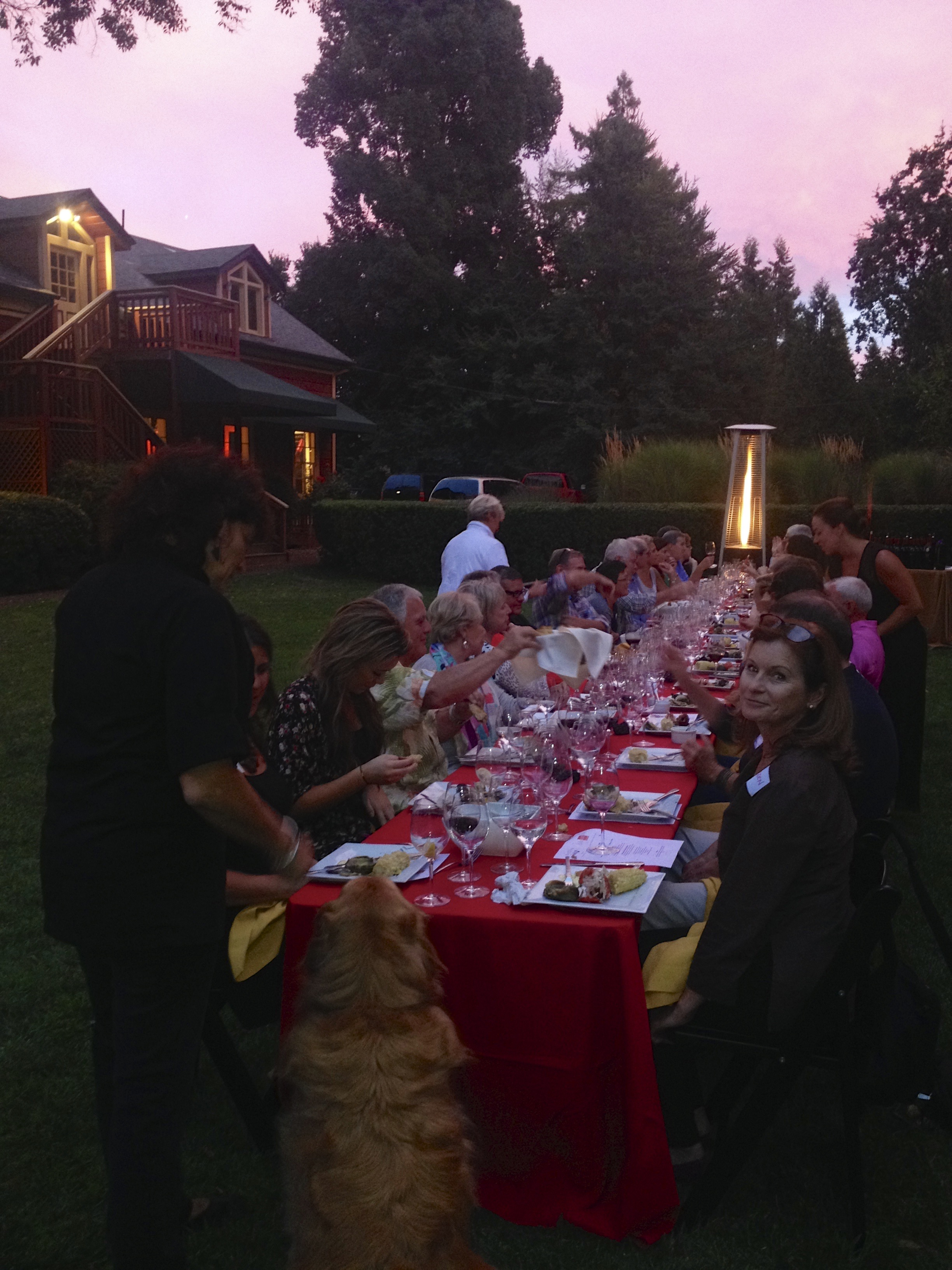 Muscardini Clambake Table and Chef