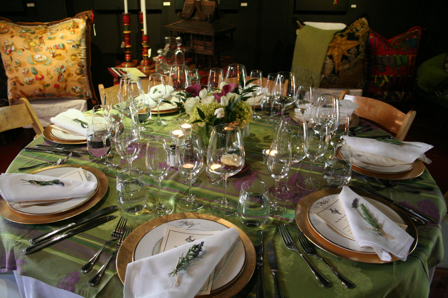 Kelham Lunch Table Setting Design