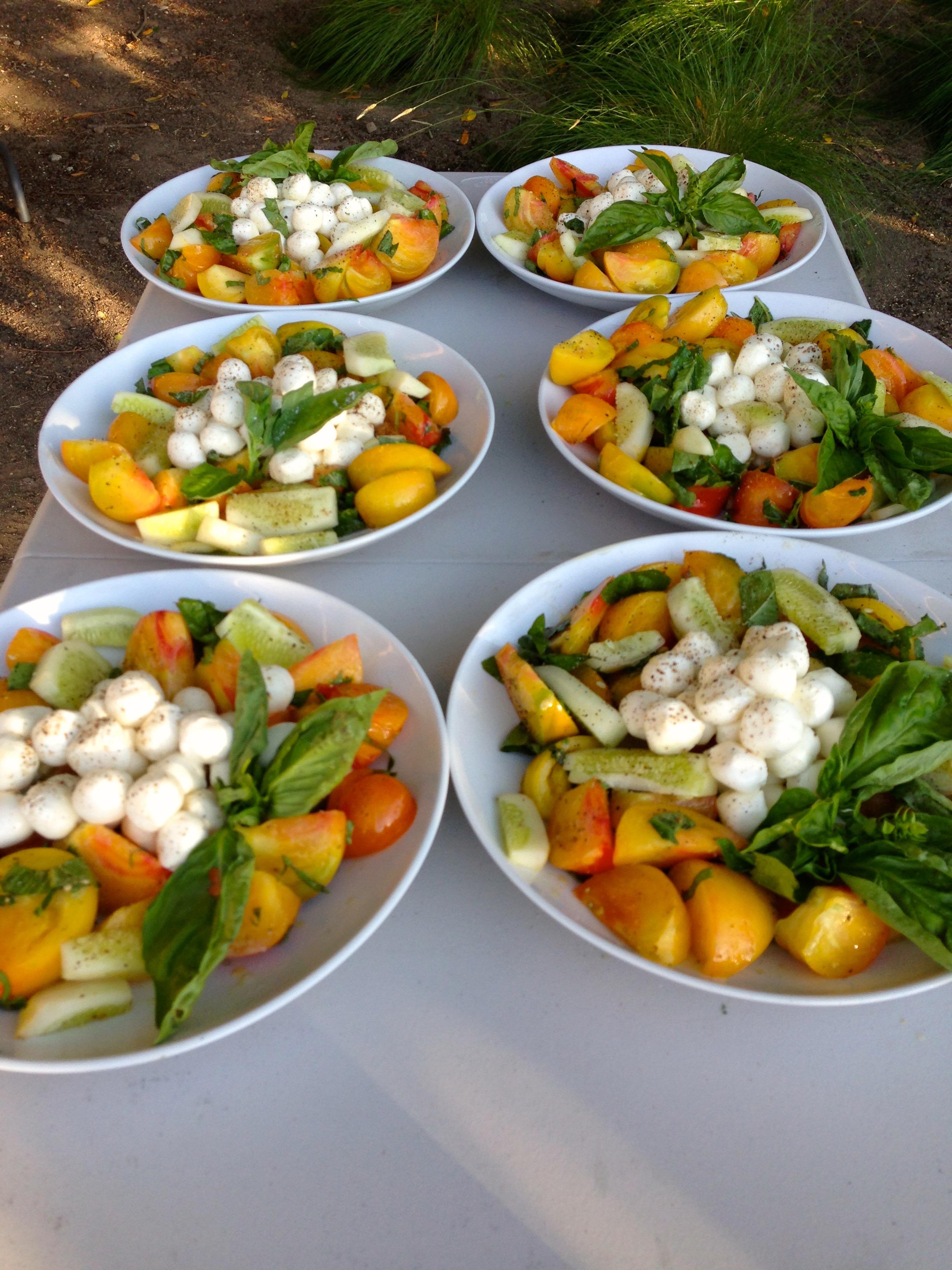 Sangiacomo Winery Heirloom Salad