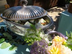 Wedding Brunch Vintage Silver Chafer