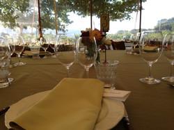 Sangiacomo Winery Table Setting