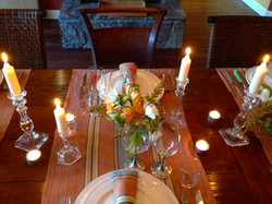 Small private dinner party