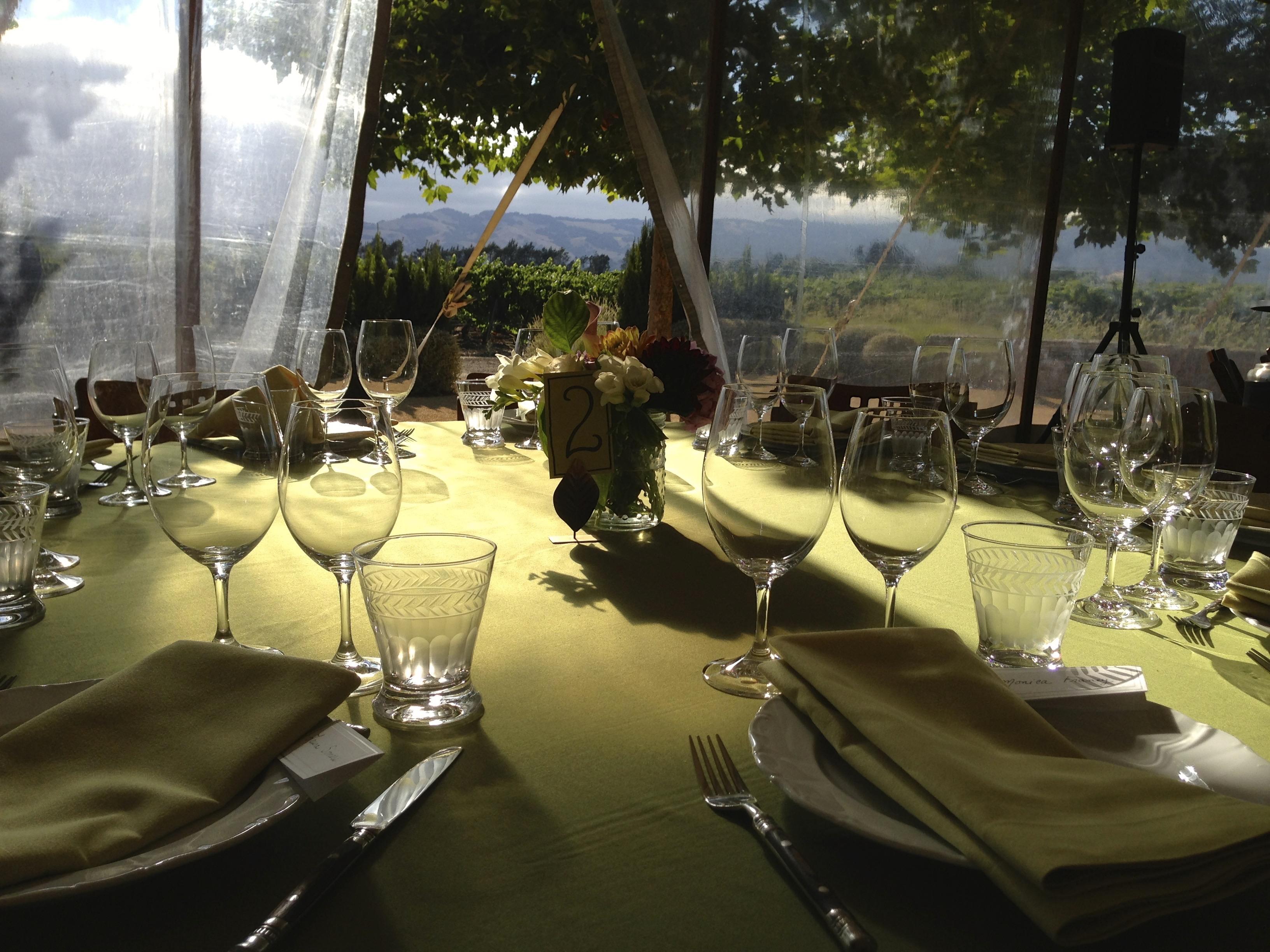Sangiacomo Table Setting
