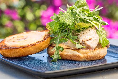 Grilled Ahi Sandwich on Saturday July 4th