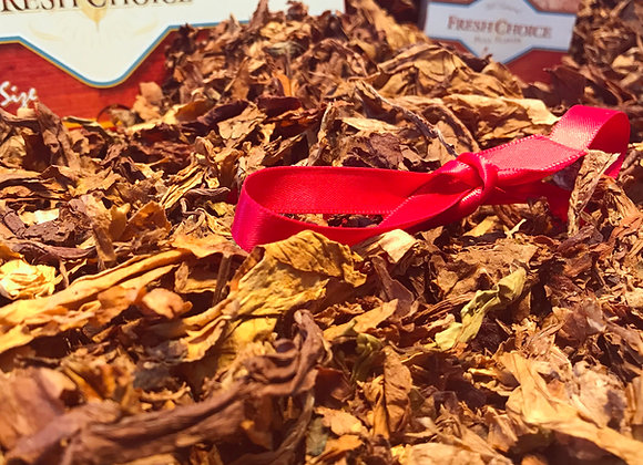 All-Natural Unmanufactured  Full Flavored American Blend Leaves - Red Ribbon