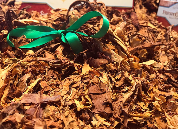 All-Natural Unmanufactured Tobacco Virginia Blend Leaves - Green Ribbon