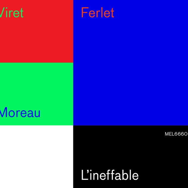 L'INEFFABLE