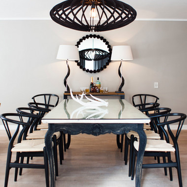 dining table lamps lights chairs