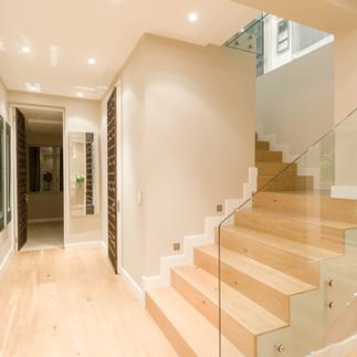 entrance hall stairs door flooring
