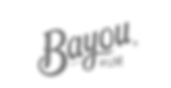 Bayou Secondary Logo _ NEW _ white backg