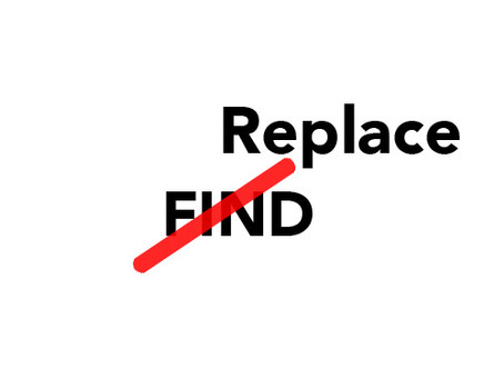 Find & Replace