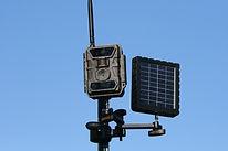 Post Mount, Bottom, Solar Panel, EZ BCS.