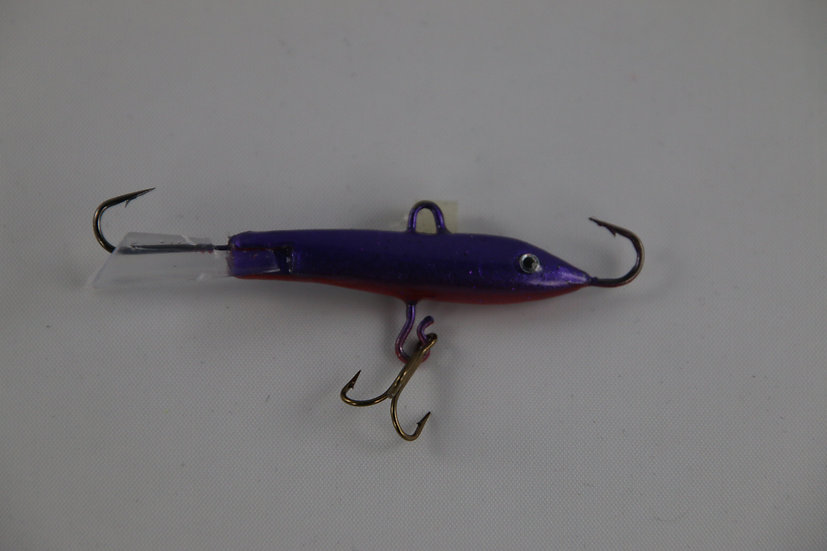 Dewald Custom Jigging Rap Purple Demon