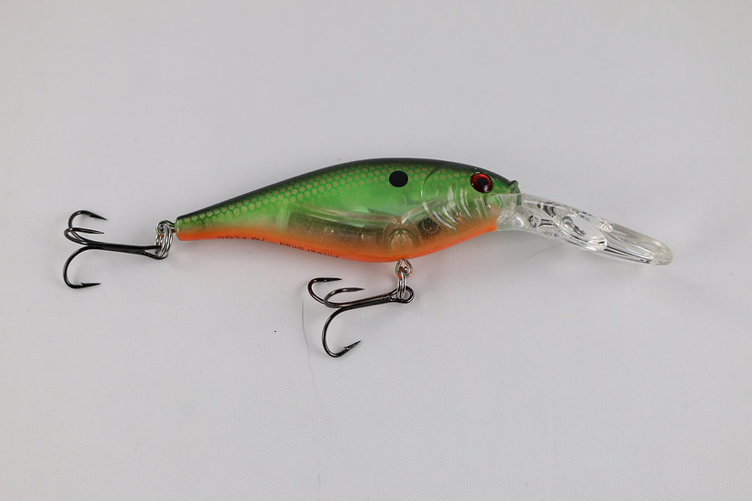 Berkley Flicker Shad Pro Flashy Green Crush