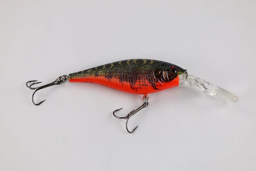 Berkley Flicker Shad Red Tiger