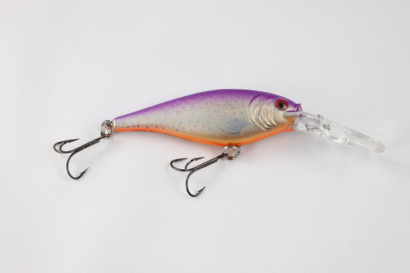 Dewald Custom Flicker Shad Purple Flake
